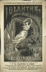 Advert For F. S. Cleaver & Sons, Soap Manufacturers